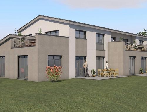 N°.1210 – Entwurf Mehrfamilienhaus